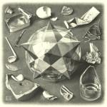 """Maurits Cornelis Escher """"Ordine e Caos"""""""