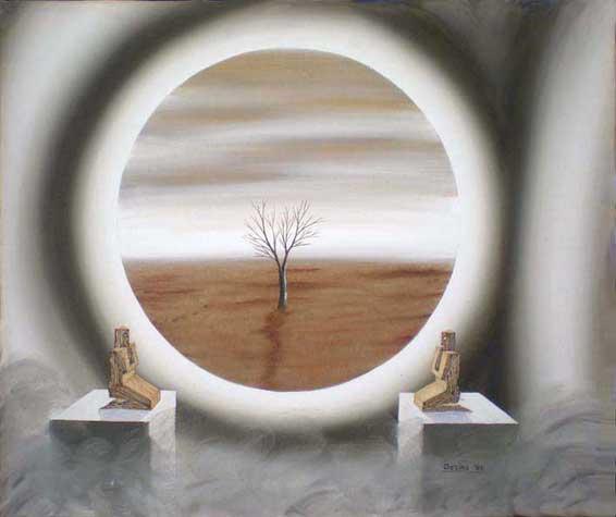 Alfredo Ossino - Ecologia - Pittura ad olio su tela